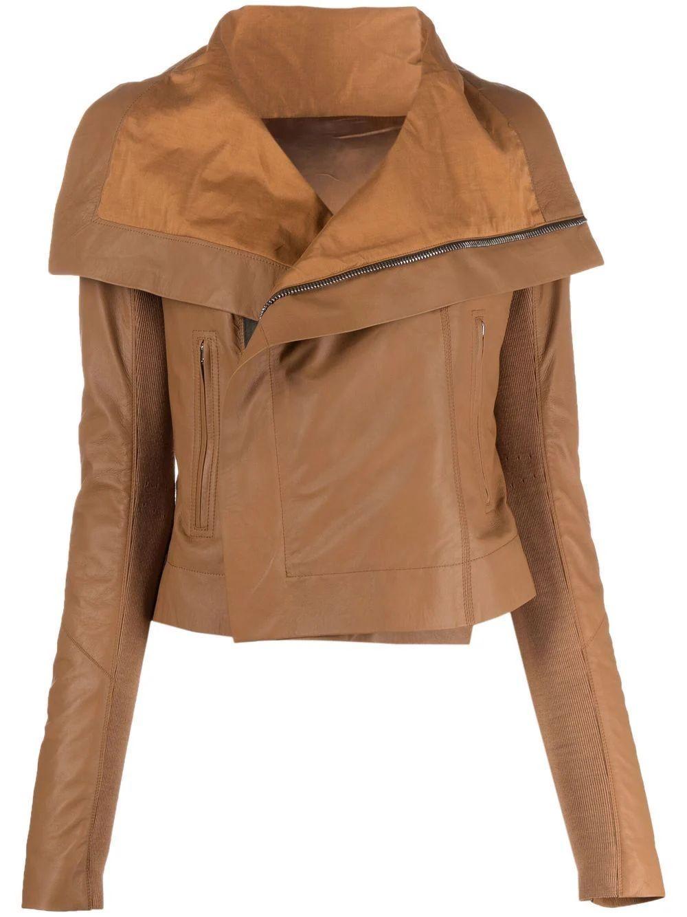 Classic Biker Leather Jacket