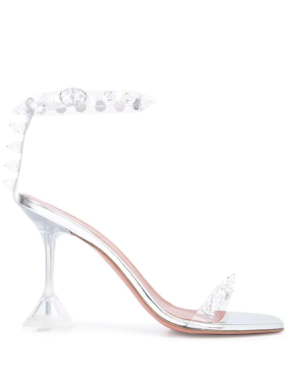 Julia Transparent 95mm Heel Item # JULIA-GLASS-CL