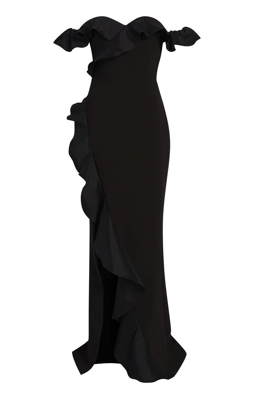 Miller Taffeta Gown Item # YD1556001LYB