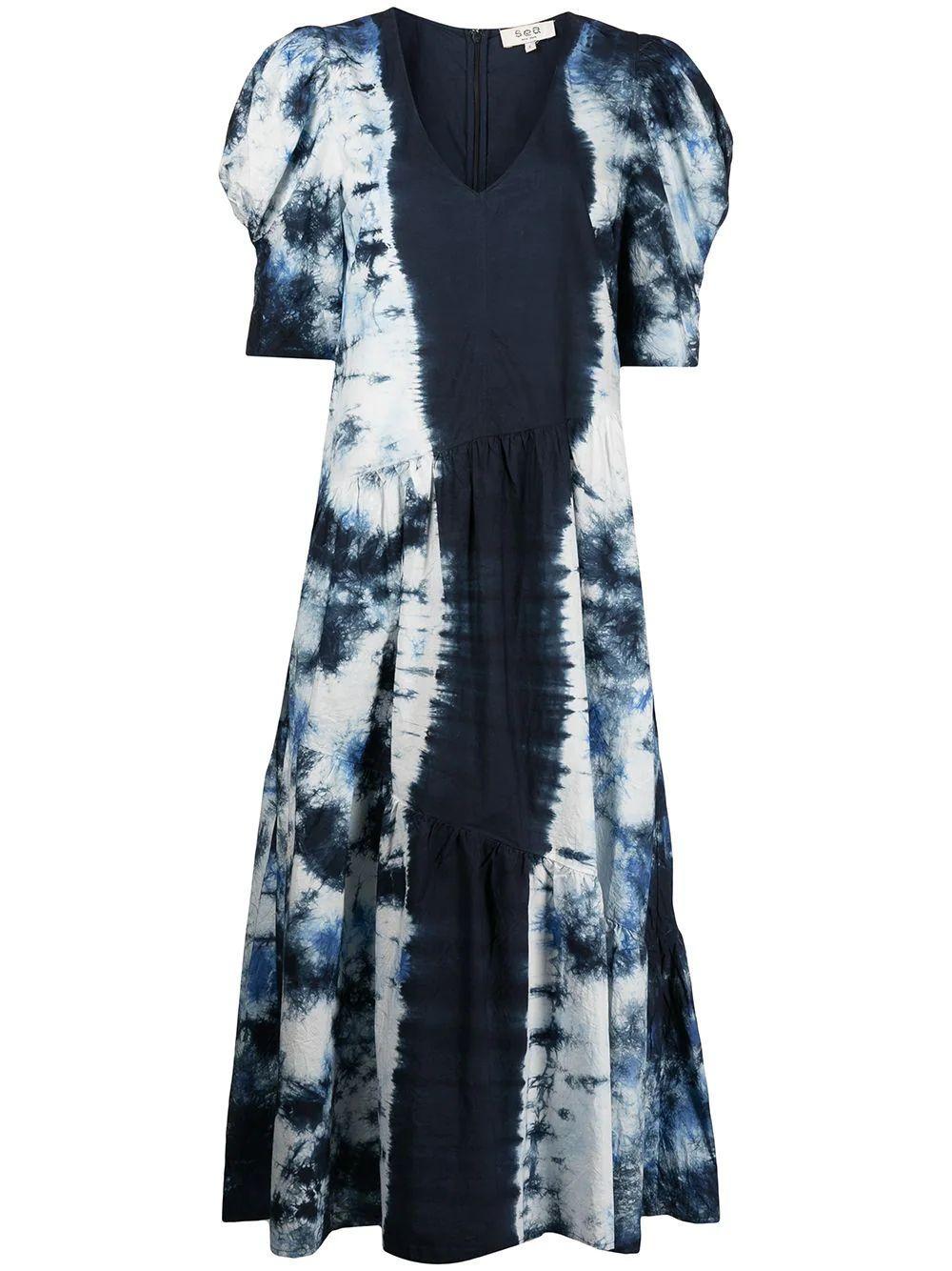 Celestia Tie Dye Dress Item # AW21-011