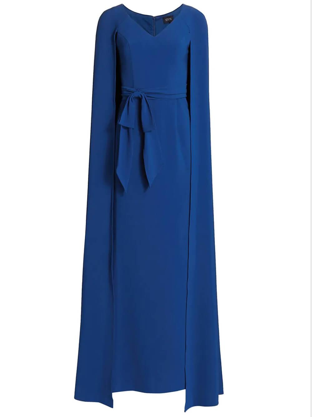 Cape Effect Gown Item # N48M2706