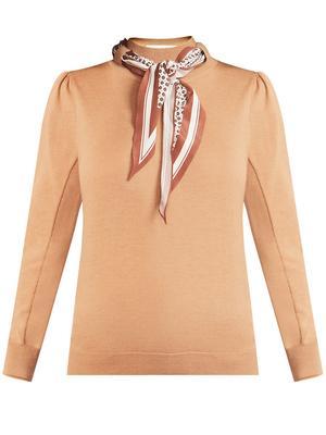 Essenza Scarf Accent Sweater