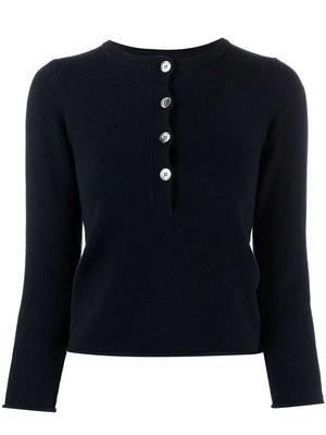 Ema Cashmere Henley Sweater
