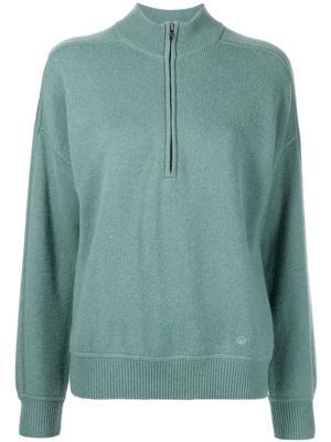 Nias Cashmere Zip Up Sweater