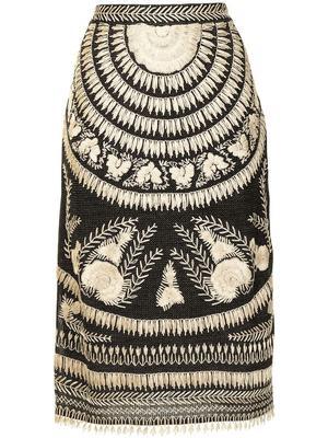 Raffia Skirt