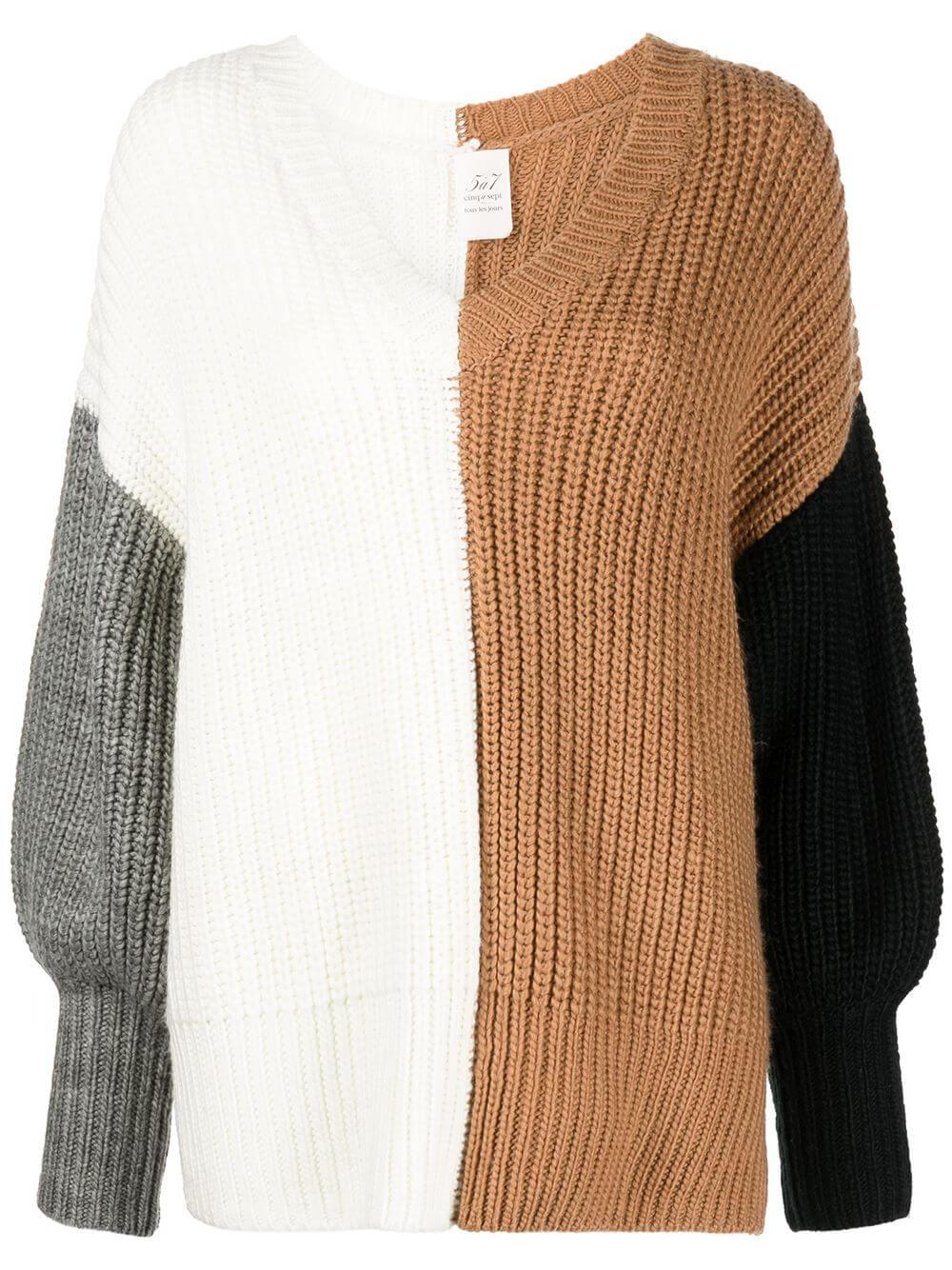 Colorblocked Antonella Sweater Item # ZK547C4133Z