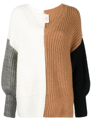 Colorblocked Antonella Sweater