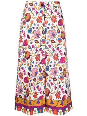 Floral Coulotte Pant