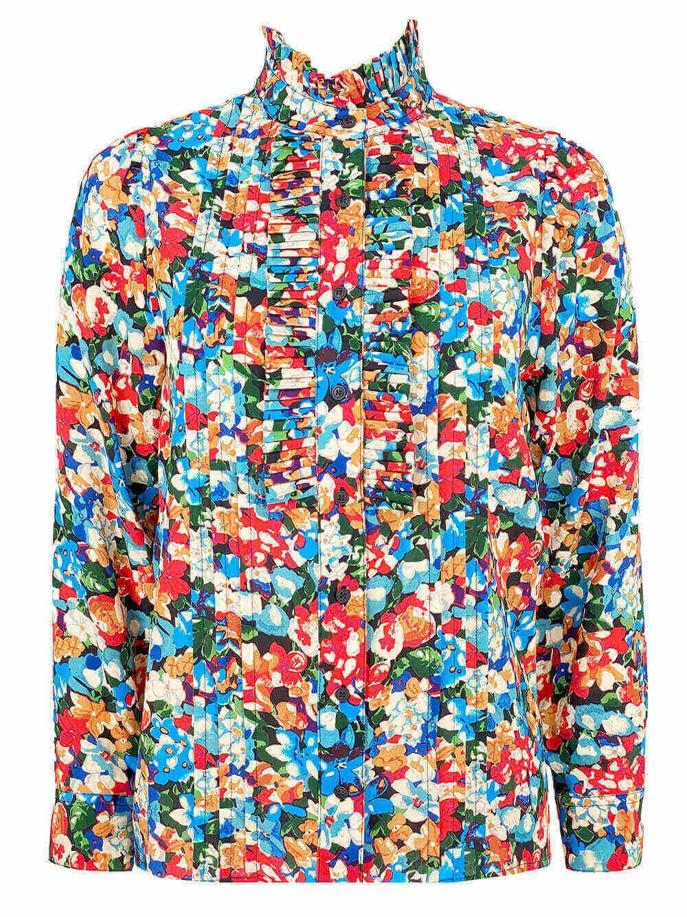Beverly Floral Top Item # 21FT2