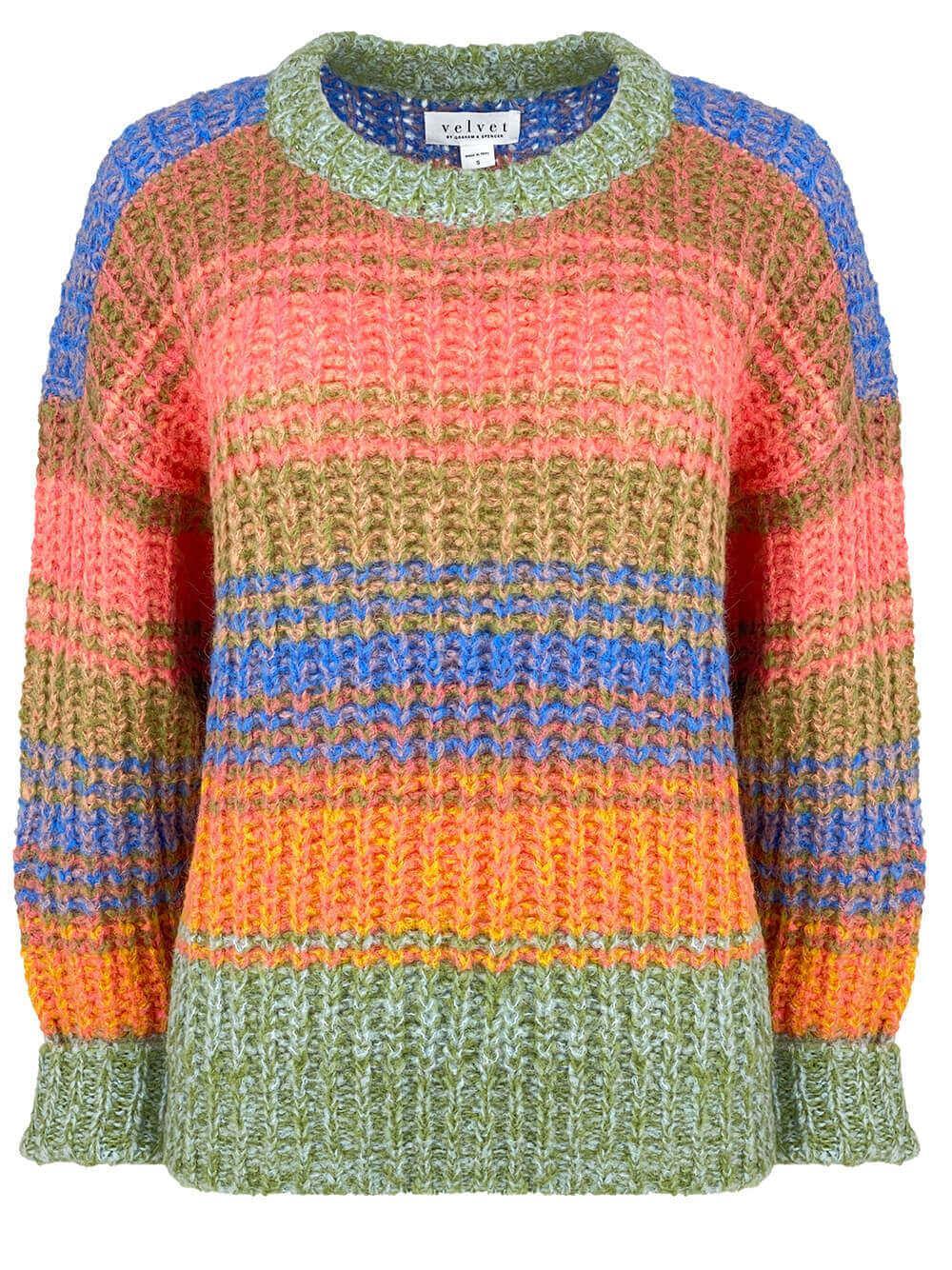 Raven Striped Sweater Item # RAVEN05