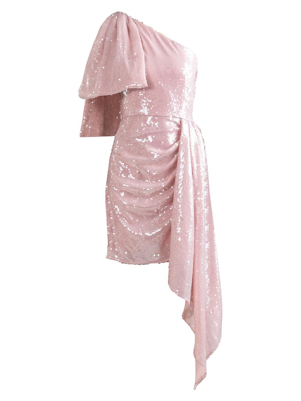 Blush Sequin Catalaya Dress Item # 6420911