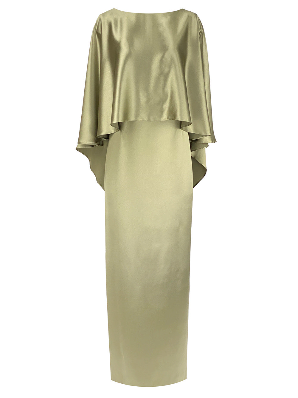 Novara Gown With Cape Overlay Item # SSSC1124