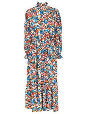 Oakley Floral Midi Dress