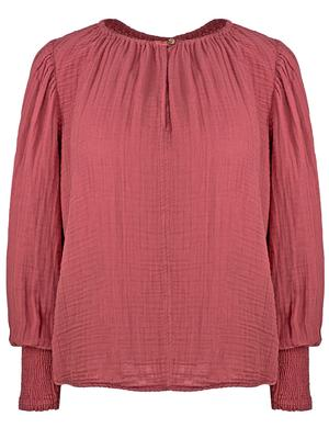 Rylee Smocked Cuff Top