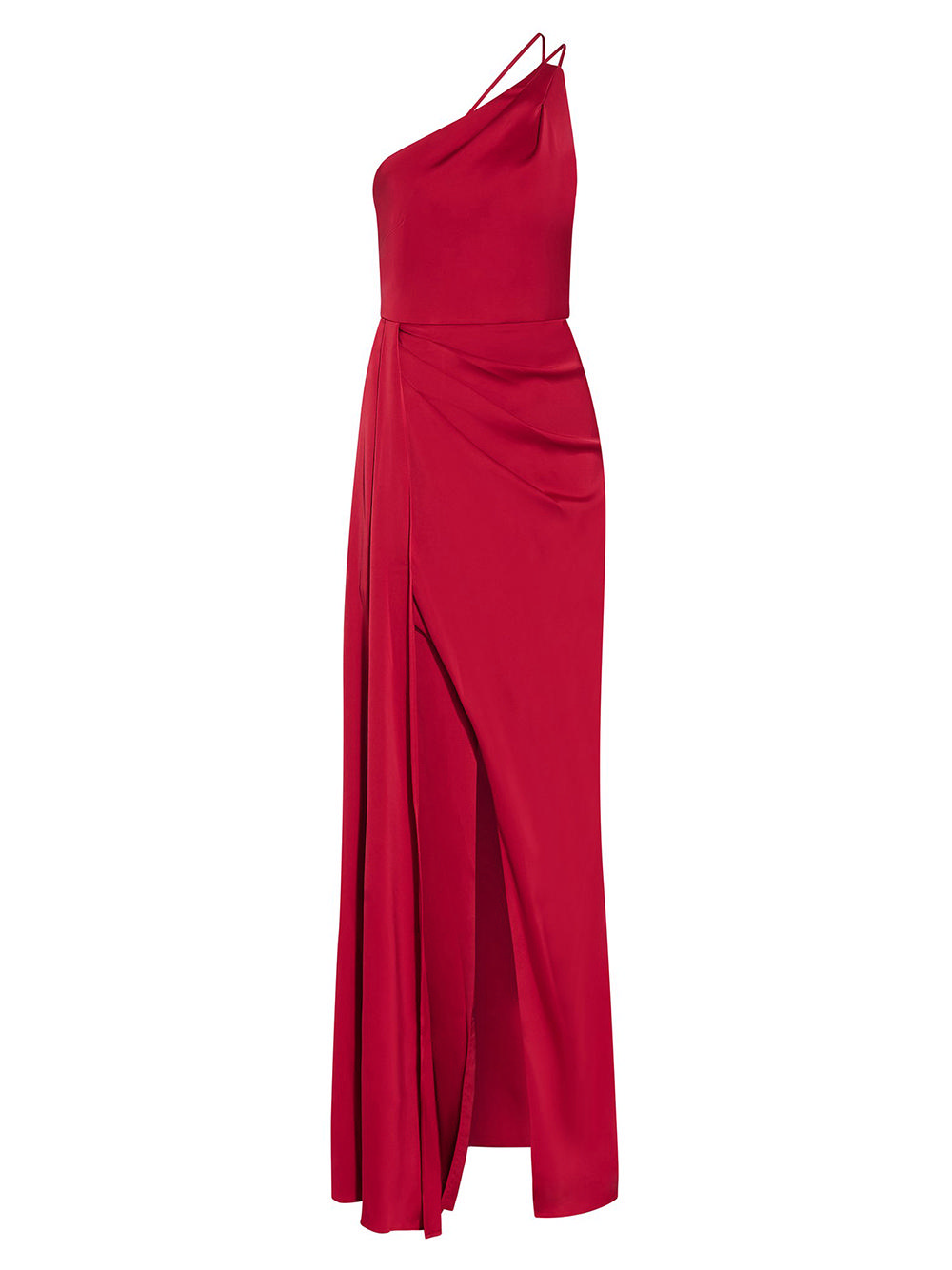 One Shoulder Draped Gown Item # MN1E206781
