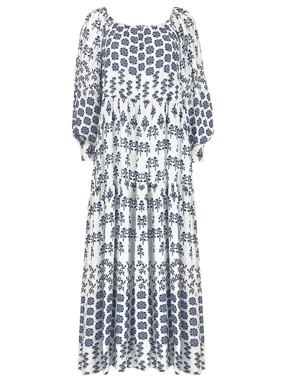 Penelope Printed Maxi Dress Item # 21FD29