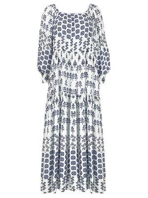 Penelope Printed Maxi Dress