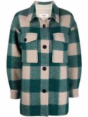 Harveli Check Shirt Coat