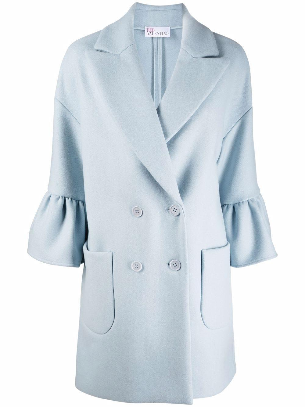 Short Coat With Peplum Sleeves Item # WR0CAD94497