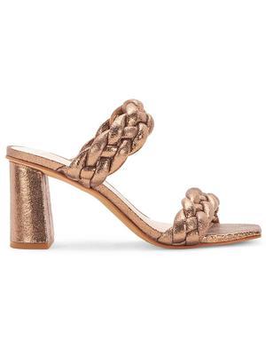 Paily Braided Metallic Sandal