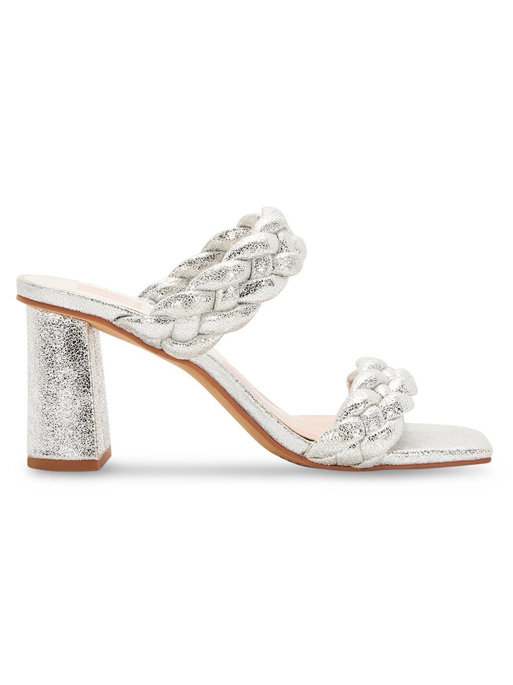 Paily Braided Metallic Sandal Item # PAILY-F21