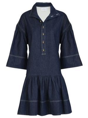 Kenley Henley Denim Dress