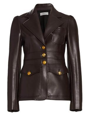 Amelia Vegan Leather Jacket
