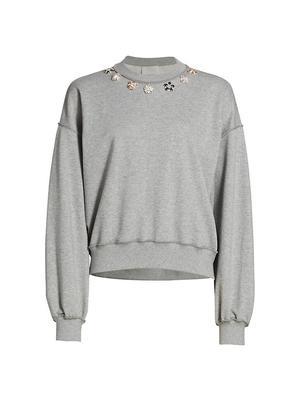 Brandy Embellished Sweatshirt
