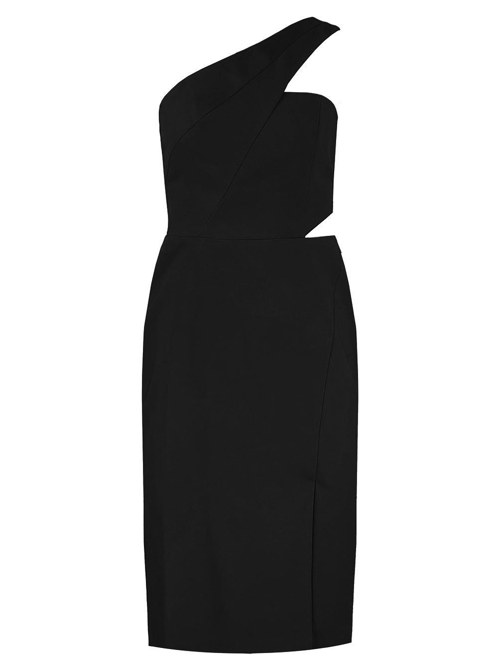 One Shoulder Cocktail Dress Item # MN1E206311