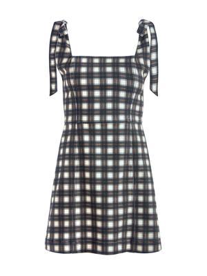 Maryann Plaid Dress