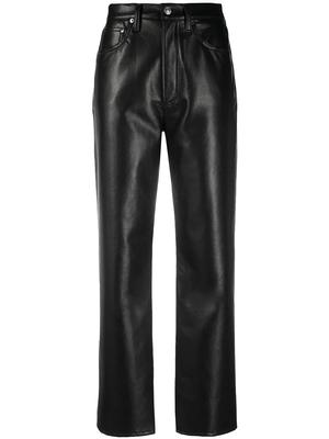 Recycled Leather 90s Pinchwaist Pant