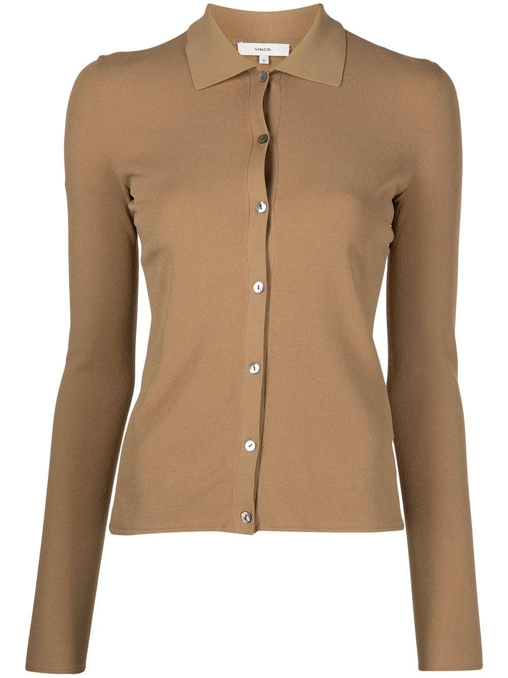 Seamless Buttoned Polo Item # V782678823