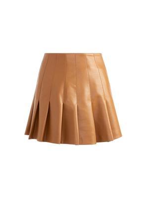 Carter Vegan Leather Skirt