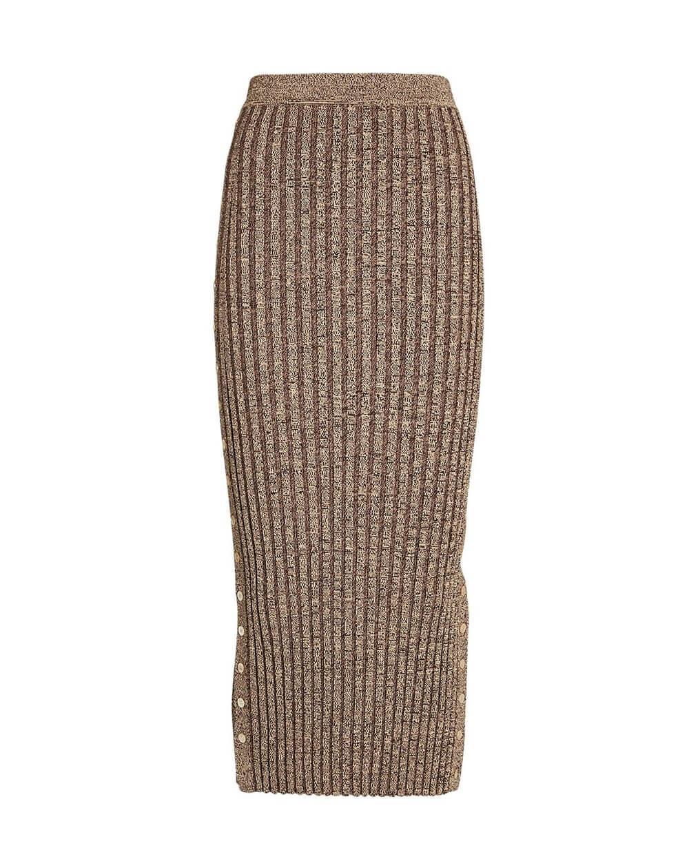 Ashton Rib Midi Skirt Item # 521-3028-K