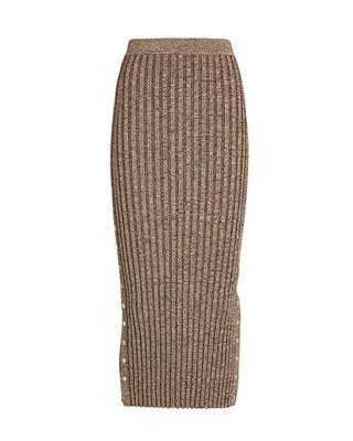 Ashton Rib Midi Skirt