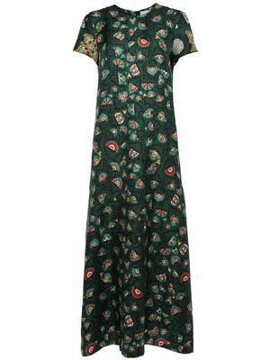 Printed Swing Midi Dress