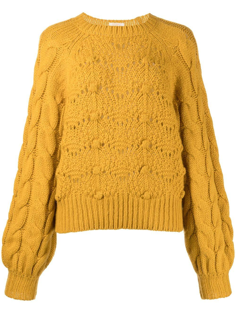 The Bell Sleeve Crop Sweater Item # 8336-996