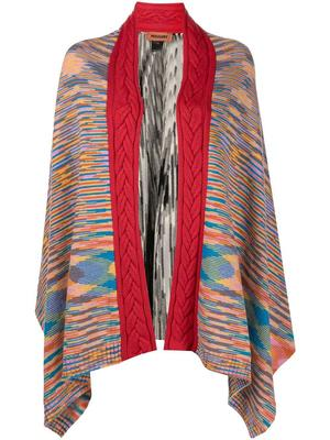 Abstract Weave Cape