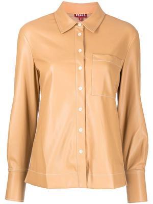 Lynn Vegan Leather Shirt