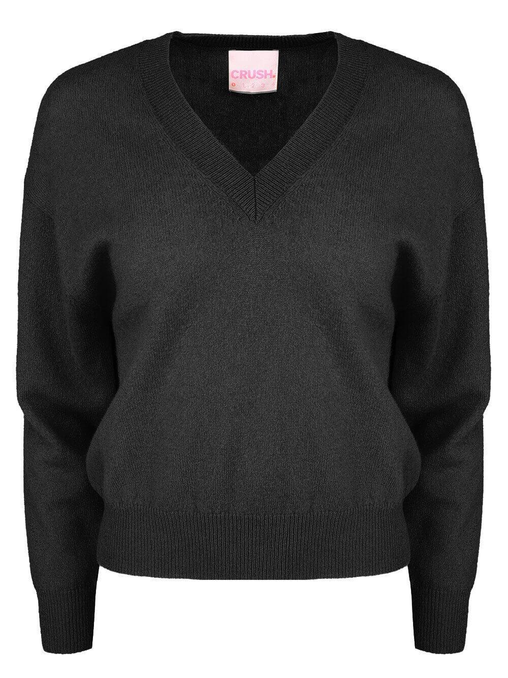 Malibu V- Neck Sweater Item # CR21-430