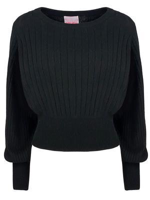 Prague Balloon Sleeve Sweater