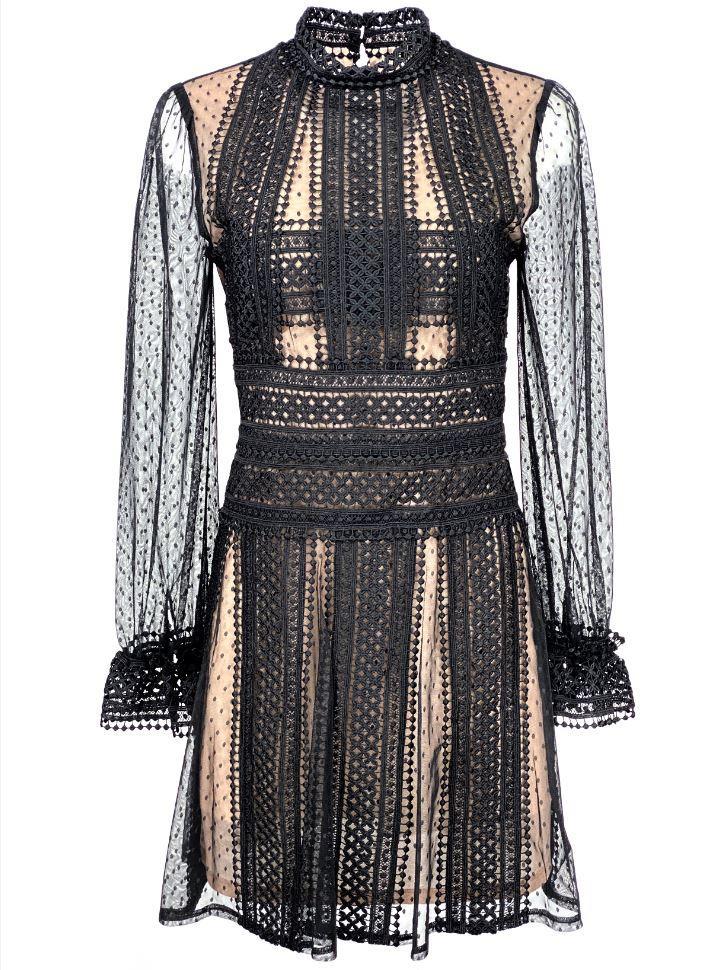 Lace Cocktail Dress Item # MK4407