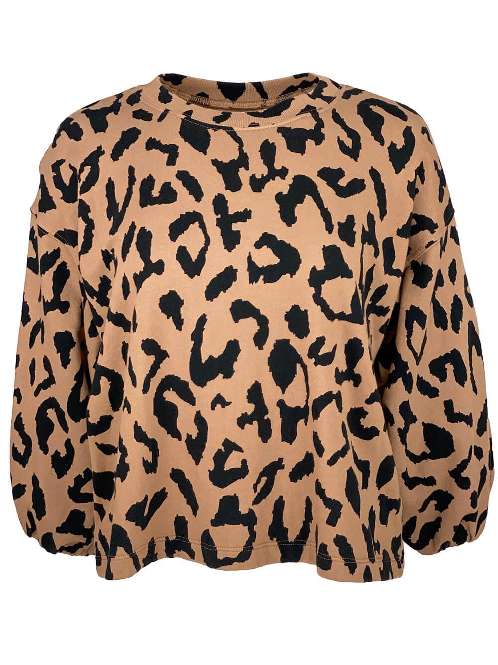 Arabelle Leopard Sweatshirt Item # ARABELLE05