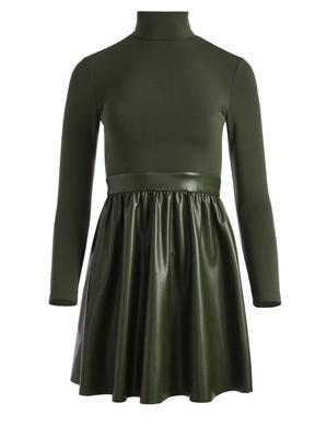 Chara Vegan Leather Dress