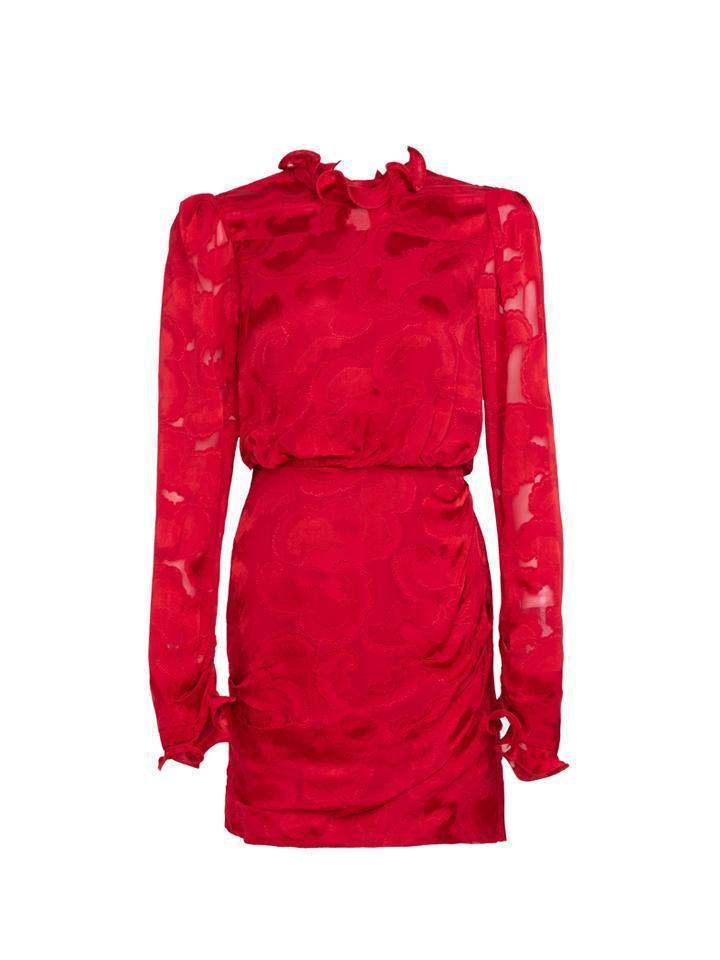 Rina- B Jacquard Mini Dress Item # 10268-F21