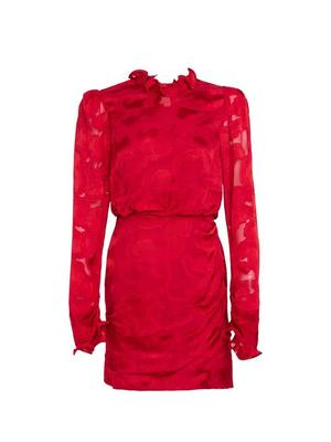 RIna-B Jacquard Mini Dress