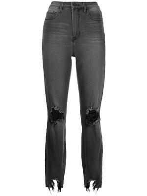 High Line Skinny Distressed Jean