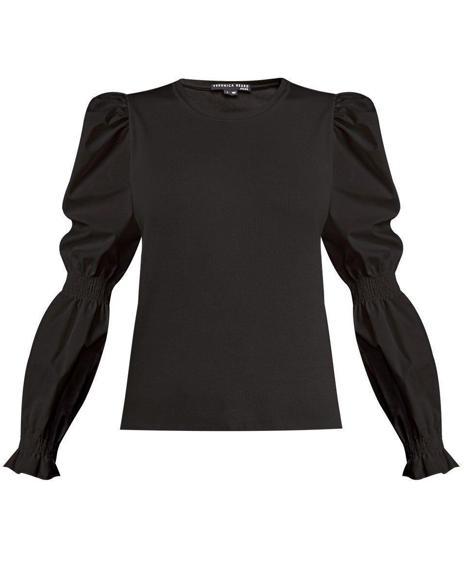 Fawn Puff Sleeve Top Item # J2108JY020S0058