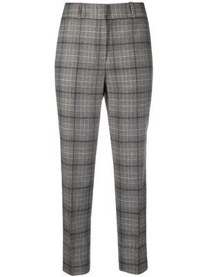 Plaid Wool Flannel Pant