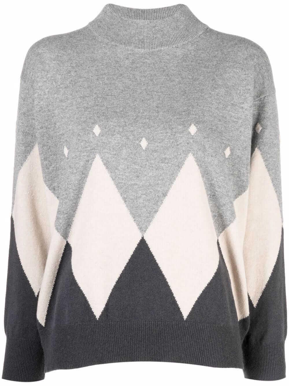 Argyle Sweater Item # S99092F12